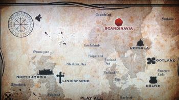 Vikingene rodde trolig fra Stavanger til Lindisfarne (nær Newcastle) for å pirre nysgjerrigheten...kanskje.