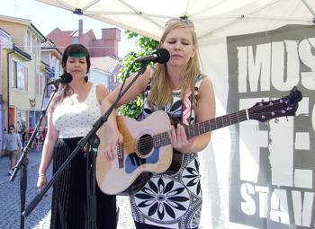 Marianne Sund på Musikkfest 2014. Foto: Sølve Friestad