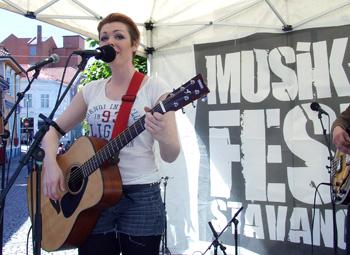 Maribelle på Musikkfest 2014. Foto: Sølve Friestad