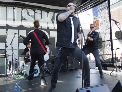 Alien Ken på Musikkfest 2014. Foto: Sølve Friestad