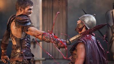 Det er også en hel del av dette i Spartacus