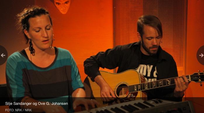 Silje og Ken Ove. Copyright: NRK
