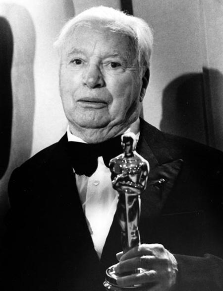 Charlie Chaplin - Oscarvinner i 1972