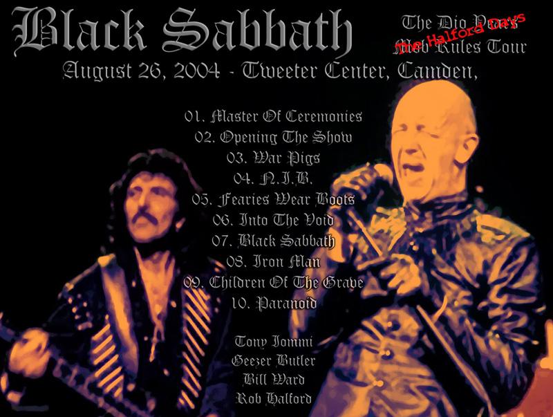 Ikke alle vet at Rob Halford erstattet en bronkittsyk Ozzy Osbourne på tre livekonserter i 2004.