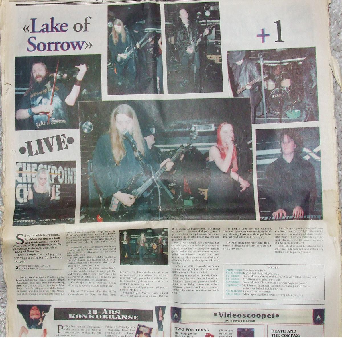 TSOTB - live på Checkpoint januar 1999 .