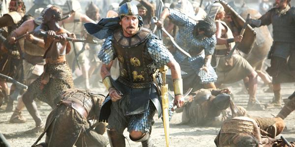 Christian Bale er Moses som sloss for sin Farao.