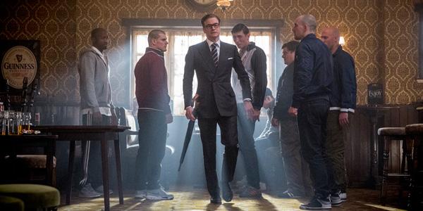 Colin Firth gjør seg bra som stivpyntet agent med skills.