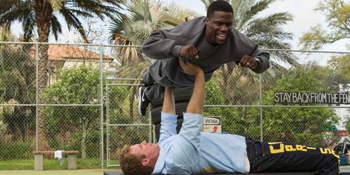 Will Ferrell og Kevin Hart i hardtrening før fengselsopphold.