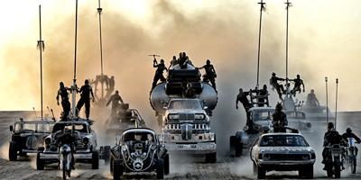 Støv, turbo, V8 og bånn gass.