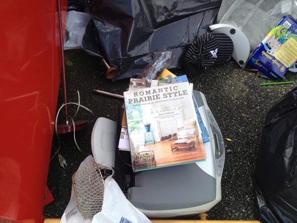 Kunne det friste med våte bøker og brukt printer?