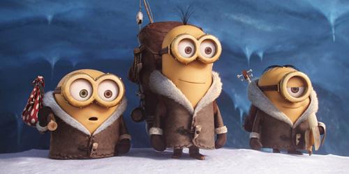Tre herlige fyrer på jakt etter ond sjef.