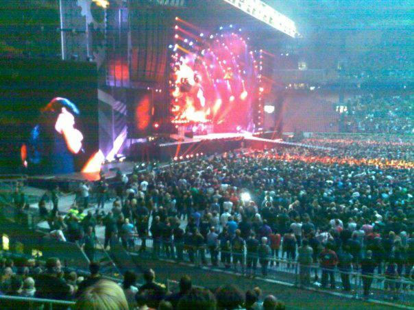 AC/DC på Amsterdam ArenA 2009. Foto: Sølve Friestad
