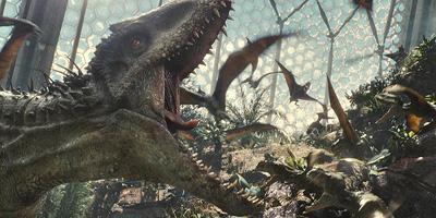 Dinosaur på jakt etter produsentene bak Jurassic Park 2.