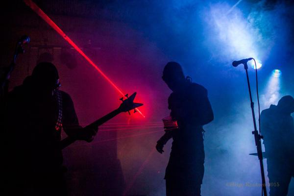 Dimenzion Psychosphere med kveldens mest innovative opptreden. Foto: Helge Knutsen