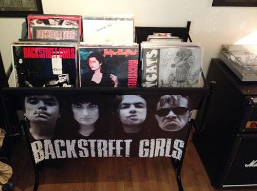 Terje Tjemslands private LP-samling er omfattende og kostbar.