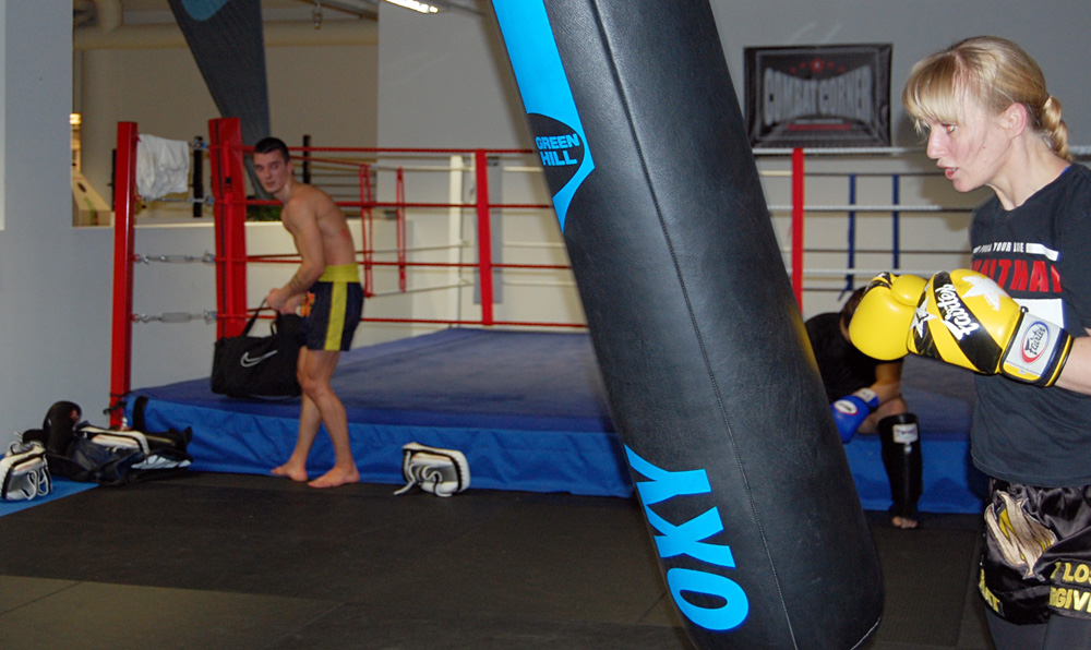 Katrine Alendal på trening; OXO Gym, Sandnes.