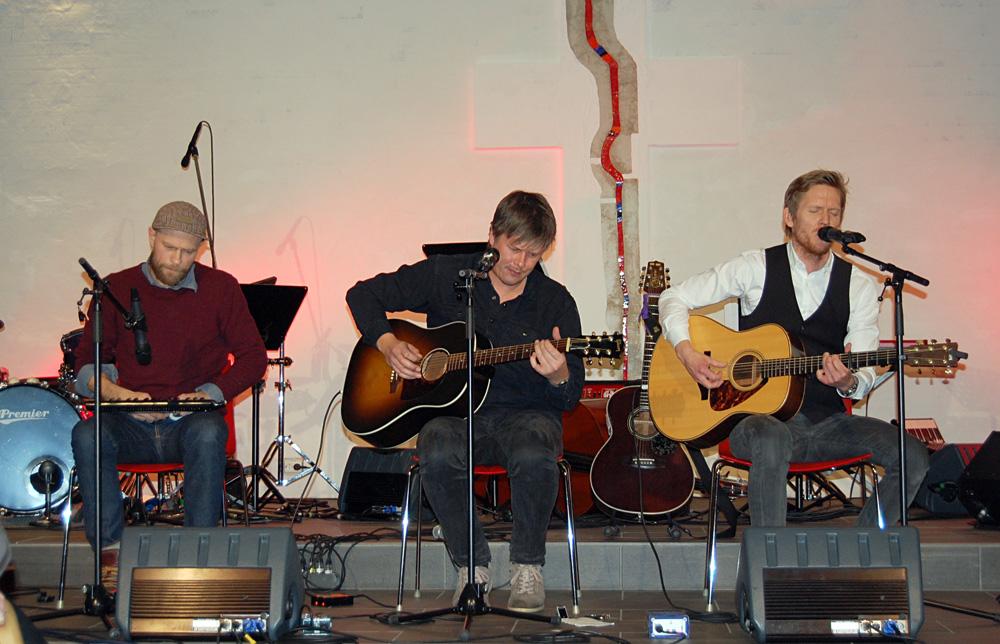 Kim Laland, Børre Bratland og John Gravdal.