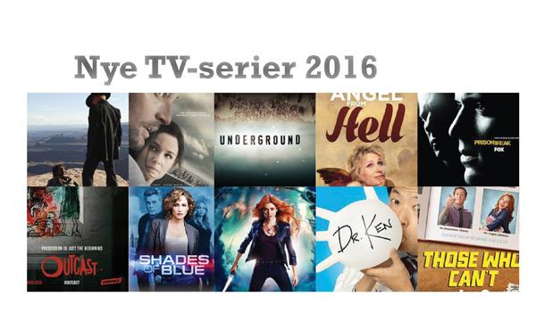 Nye tvserier 2016