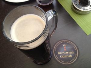 Schwarzbier fra Browarnia i Gdansk.