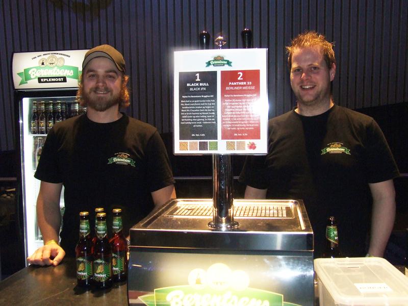 Fred Berentsen og Ivar Fjellanger fra Berentsen leverte på Sur & Bitter.