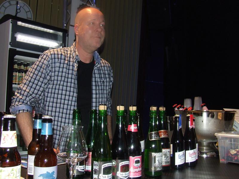 Morten Davidsen fra Strag står bak importen av bl.a. Ballast Point, Oude Bersel og Timmermans.