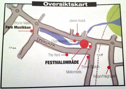 Jærnåttå sitt program byr på en fin oversikt over de relevante utestedene å besøke under Jærnåttå.