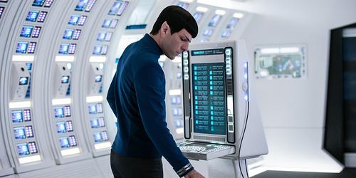 Forholdsvis oppdatert på PC i Star Trek - Beyond.