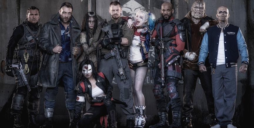 Suicide Squad - litt av en gjeng.