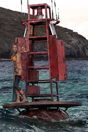 Blake Lively tar seg en fortjent pause fra surfingen.