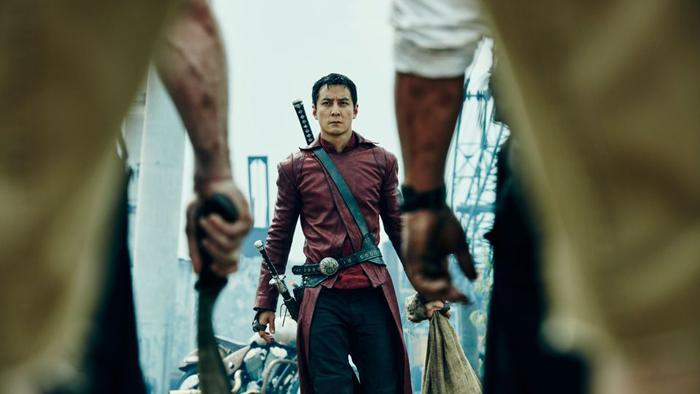 Sunny (Daniel Wu) hamler opp med de fleste i Into the Badlands.